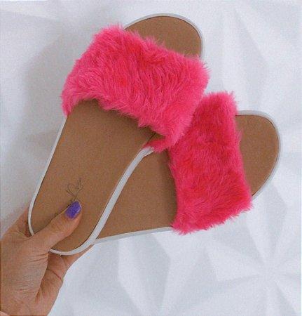 Slide Pink Peluciada