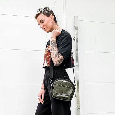 Shoulder Bag Croco Militar