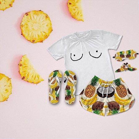 Conjunto Pijama Summer + Chinelo de dedo