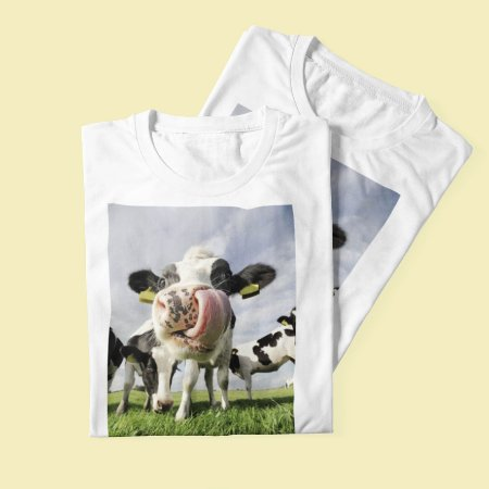 Combo Duas T-shirts Vaca