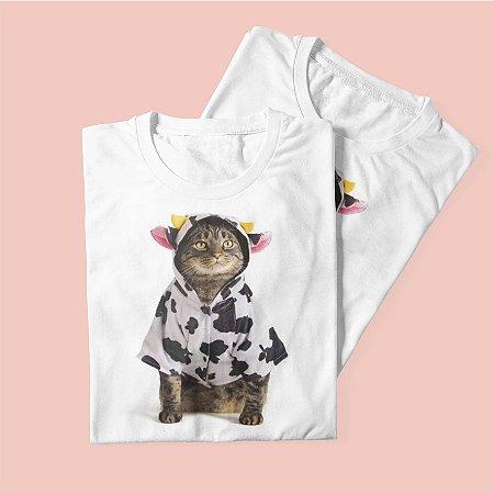 Combo Duas T-shirts Gato de Vaca