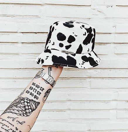 Chapéu Bucket Hat Vaca