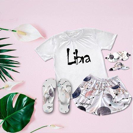 Conjunto Pijama Libra + Chinelo de dedo