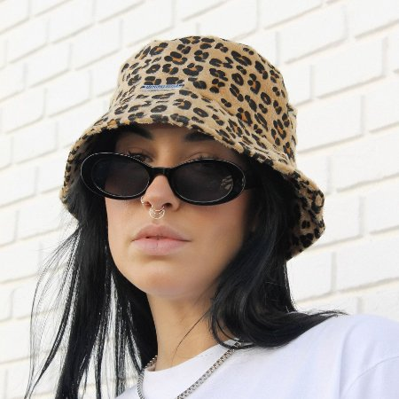 Chapéu Bucket Hat Imitação Pelo
