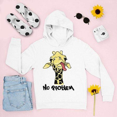 Combo Moletom Capuz + Chinelo: Girafa