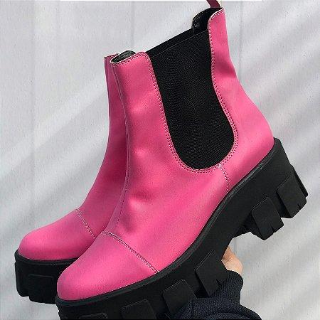 Coturno Tratorado Pink