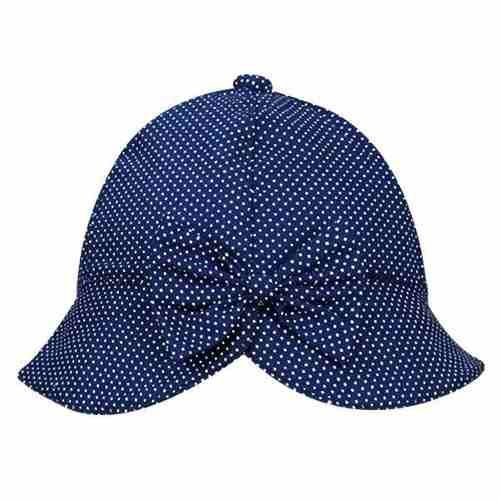 Chapéu Bebê De Poá - Azul Marinho