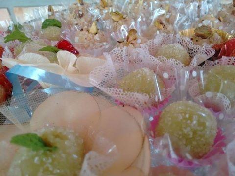 Doces finos tradicionais de festa