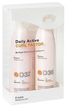 Bipack - D32+D36 - Revitalizador de Ondas - Shampoo/Cond - 2x250ml