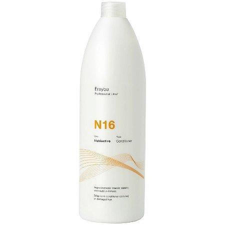 N16 Condicionador 1000 ml - Condicionador de nutrição intensa