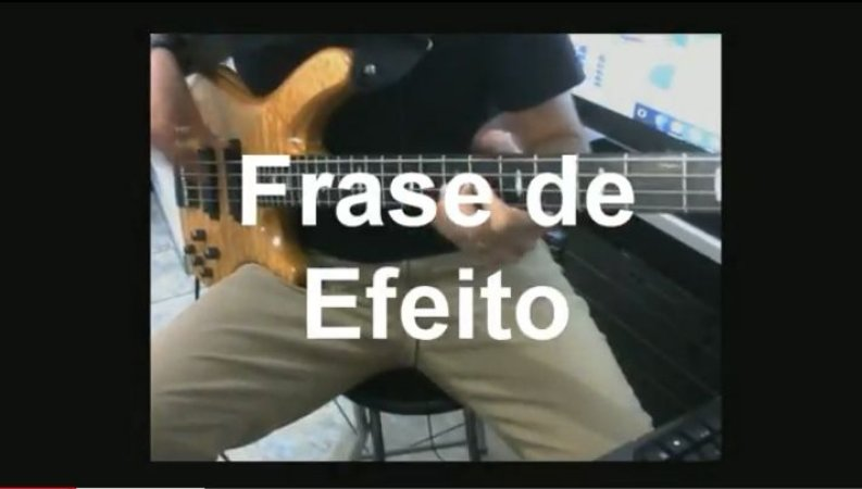 Vídeo Aula Frases e Licks Volume 1 Execução de Frases (Download)