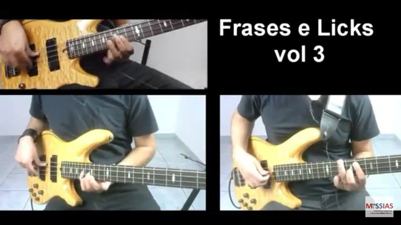 Vídeo Aula Frases e Licks Volume 3 (Download)
