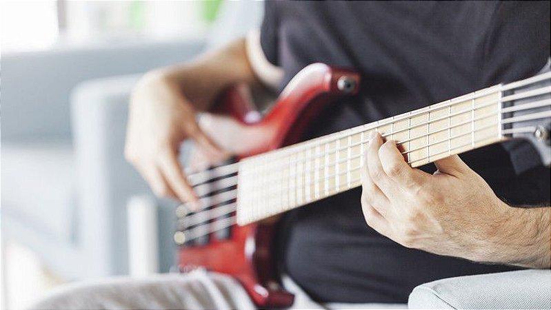 Vídeo Aula de Contrabaixo Caminhos da Improvisação Campo Harmônico Maior