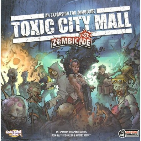 Toxic City Mall - Expansão Zombicide