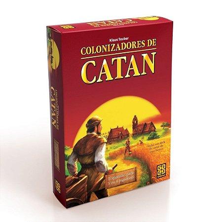Expansão Catan 5 e 6 Jogadores