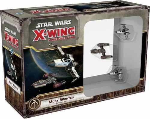 Mais Procurados - Expansão X-Wing