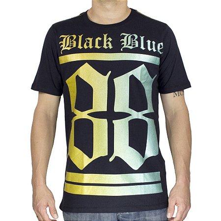 Camiseta Black Blue 88 Preta