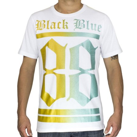Camiseta Black Blue 88 Branca