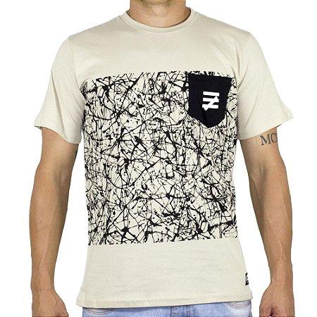 Camiseta Chronic Painting Bege