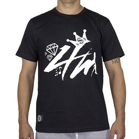 ac7873fd0decd Camiseta 4M Preta - OSTENTARE