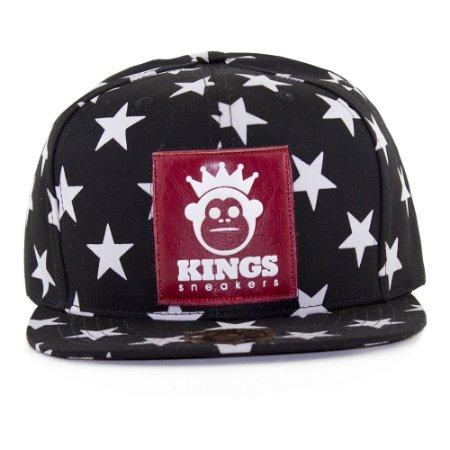 Boné Kings Stars Preto