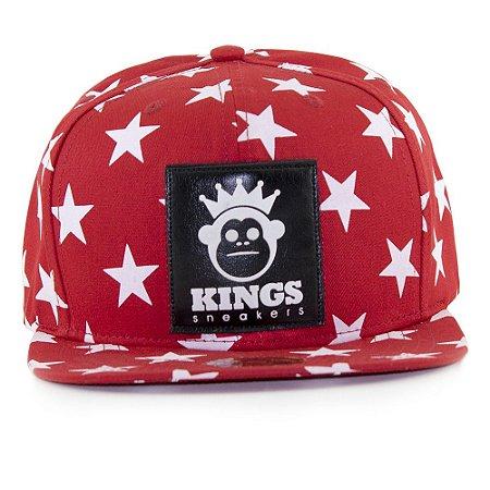 Boné Kings Stars Vermelho