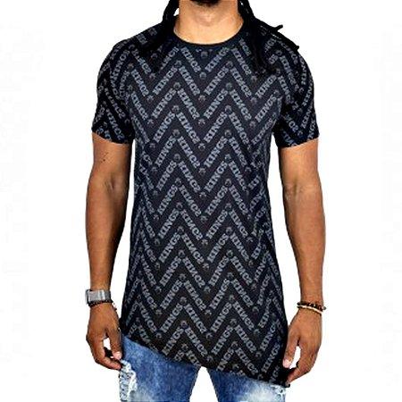 Camiseta Kings Oversized Asymetric Forms