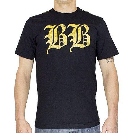 Camiseta Black Blue BB Preta
