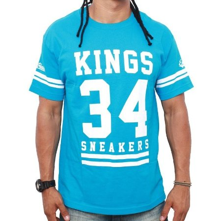 Camiseta Kings 34 Azul