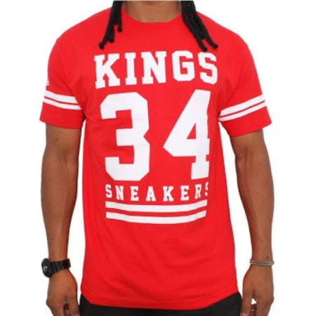 Camiseta Kings 34 Vermelha