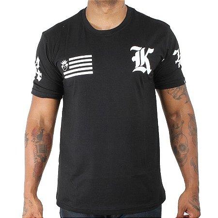 Camiseta Kings Flag Preta