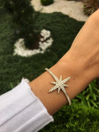 Pulseira Dourada Estrela