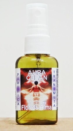 Aura Clean - Expansor de Consciência (incenso líquido) - Flor da Alma