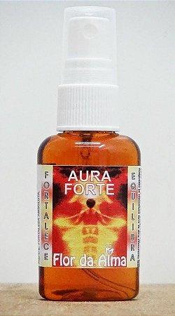 Aura-Forte - Expansor de Consciência (incenso líquido) - Flor da Alma