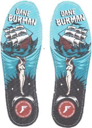 PALMILHA FOOTPRINT FLAT DANE BURMAN 7mm