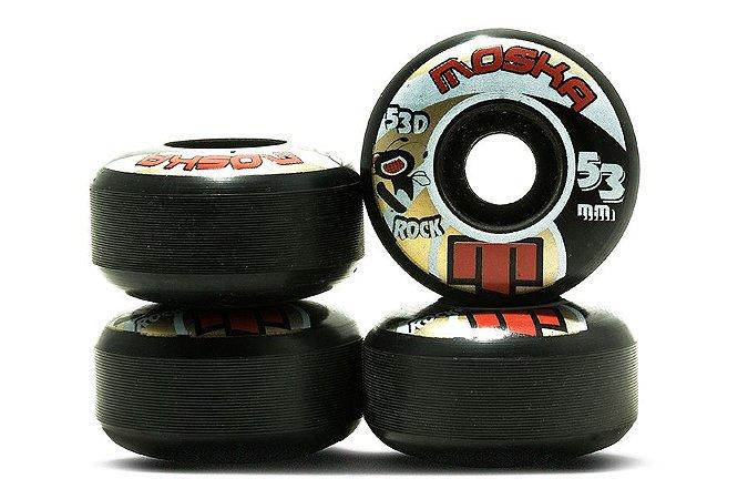 RODA MOSKA ROCK 53D 53mm PRETA