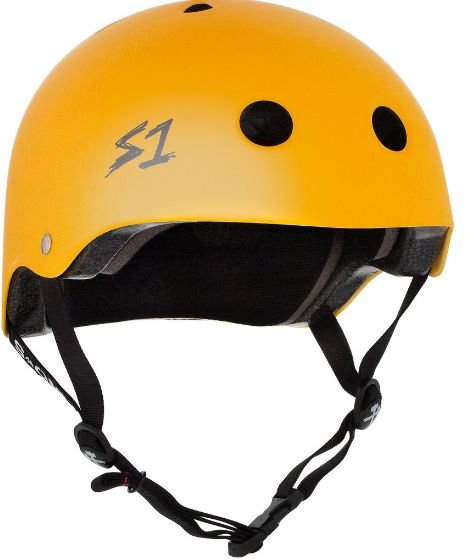 CAPACETE S ONE YELLOW MATTE