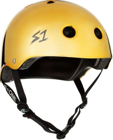 CAPACETE S ONE GOLD METALLIC