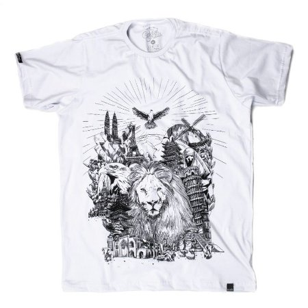 CAMISETA MASCULINO KINGDOM