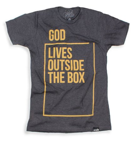 CAMISETA MASCULINA GOD LIVES CHUMBO