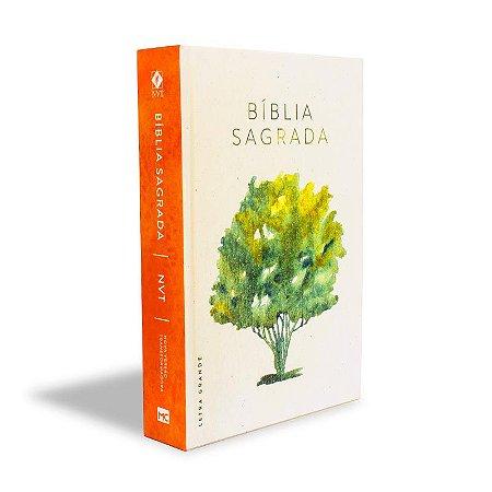Bíblia NVT - Árvore da Vida (Capa dura - Letra Grande)