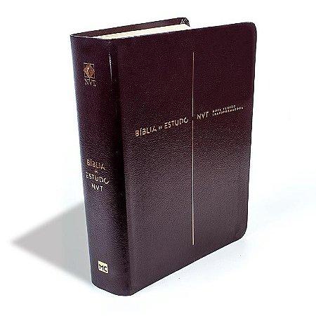 Bíblia De Estudo NVT - Vinho