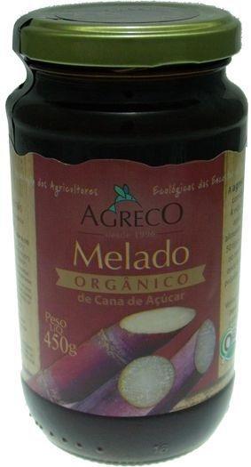 Melado de cana de açúcar 100% orgânico e puro. 450g