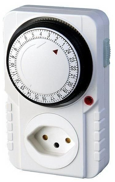 Timer Temporizador Analógico - Programável 24 Hs