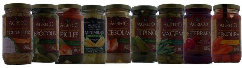 Conserva de Legumes Orgânicos - Vários sabores. 355g