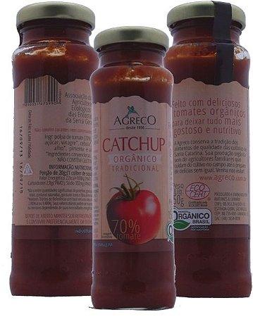 Catchup Orgânico Tradicional. 70% tomate - 150g