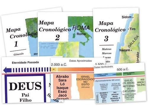 3 mapas e 3 quadros 42x55cm