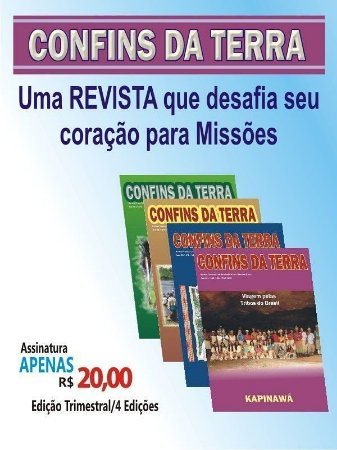 Assinatura da Revista Confins da Terra