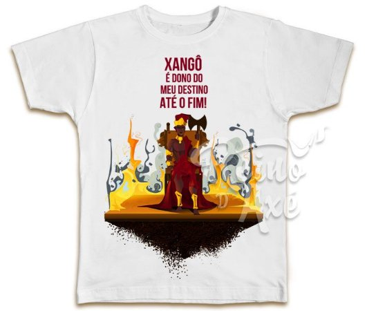 Camiseta Xangô dono do meu destino