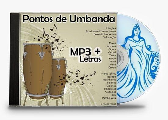 CD 640 Pontos de Umbanda em MP3 + Letras